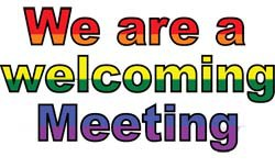 We are a welcoming meeting